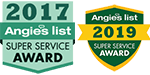 Angie's List award Winners 2017 & 2019